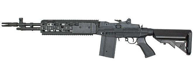 CYMA M14 EBR - Black - JD Airsoft Ltd M14 Ebr Airsoft