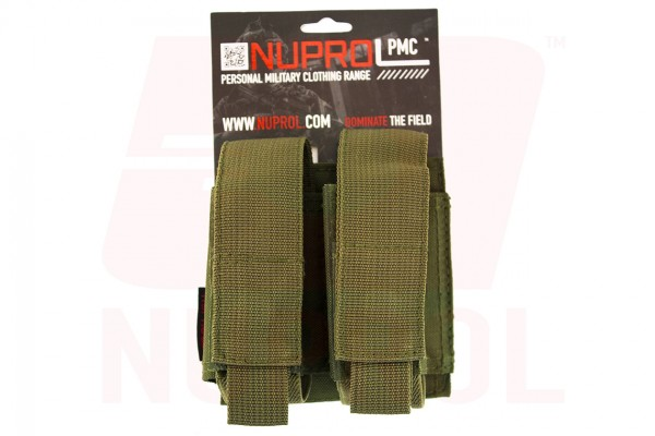 Nuprol PMC Double 40mm Pouch / green