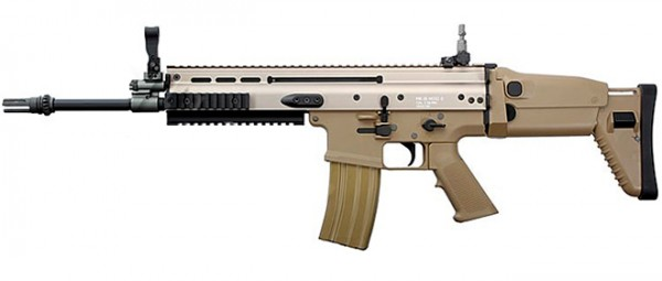 WE MCR Mk16 MCR Scar Light Tan
