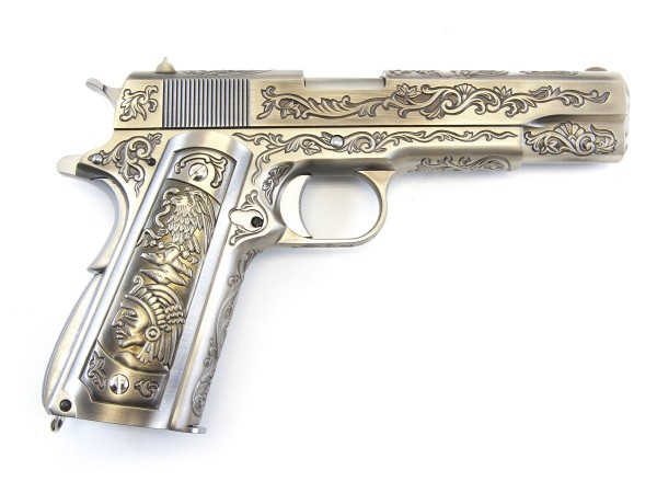WE 1911 Chrome Etched Special Edition