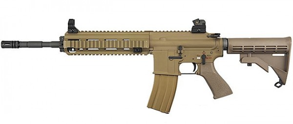 WE 888 Open Bolt GBB Rifle Tan