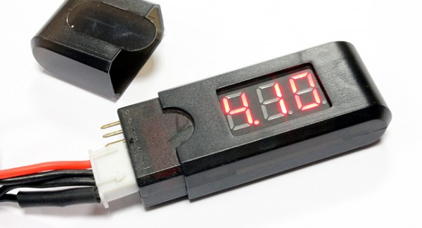 Primary Voltage Tester : Airsoft s lipo battery voltage tester jd ltd