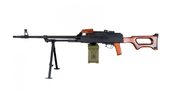 A&K PKM Machine Gun (Wood Version)