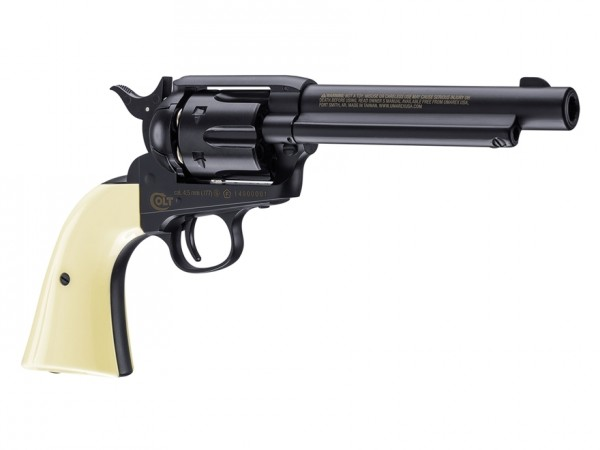 Colt Peacemaker SAA CO2 Revolver, Blued .177
