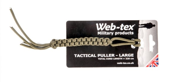 Web-Tex Tactical Puller - Large OD