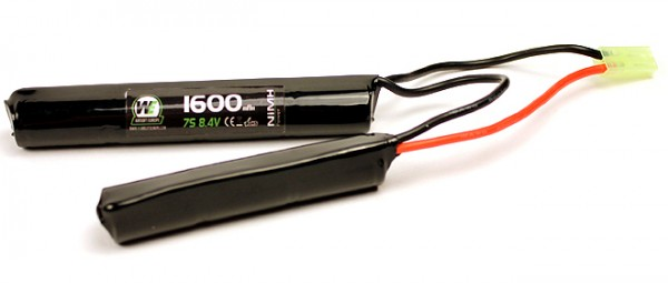 WE 8.4v 1600mAh Nunchuck Style Battery