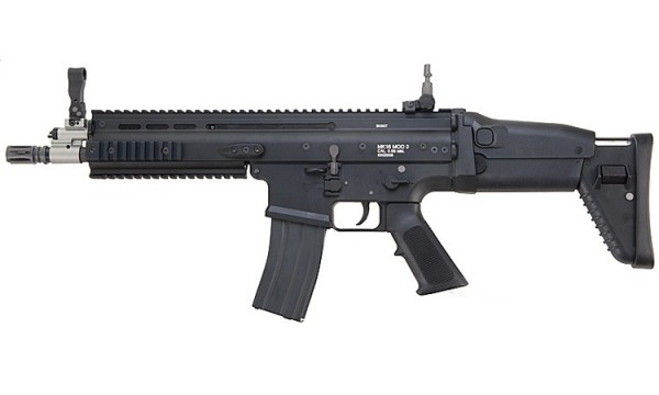 WE Europe MK16 MCR Scar GBB Black