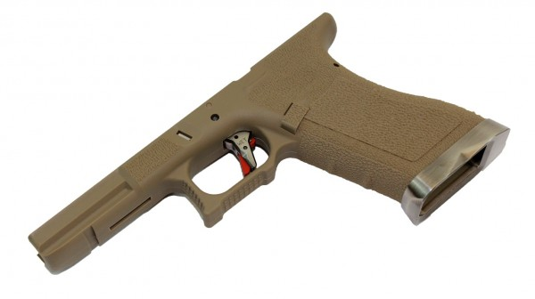 WE EU Series Lower Frame Kit - Tan