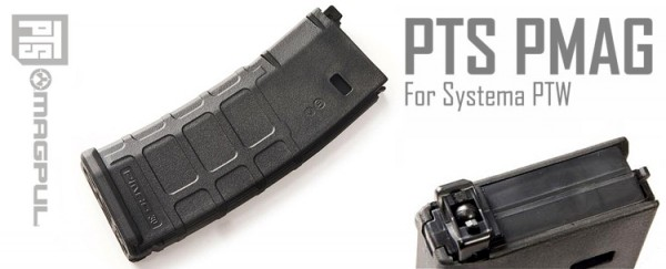Magpul PTS P-MAG PTW 120rd Magazine Black