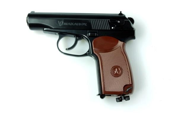 Umarex Makarov .177 BB - Black/Brown