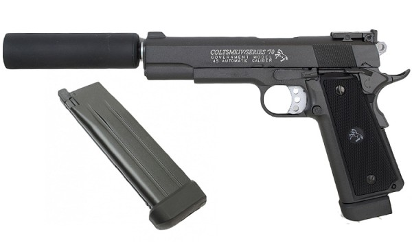 Cybergun Colt 1911 Mk IV Package
