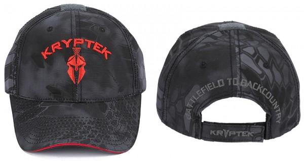 Kryptek Baseball Cap - Horus Typhon / Red