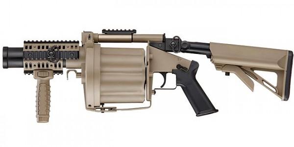 ICS MILKOR GLM Grenade Launcher Tan