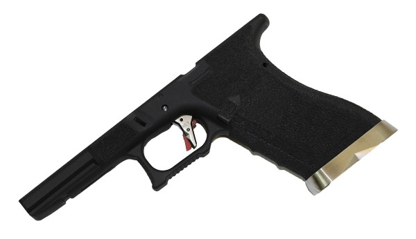 WE EU Glock Series Lower Frame Kit - Black