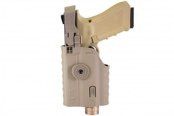 Nuprol EU Series Light Bearing Holster & Torch (TAN)