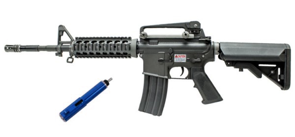 WE Katana M4A1 RIS Black (Blue)