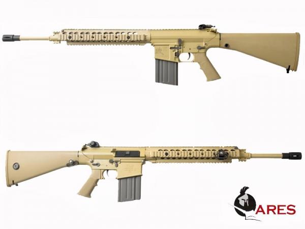 Ares SR25 Carbine EFCS DMR Tan