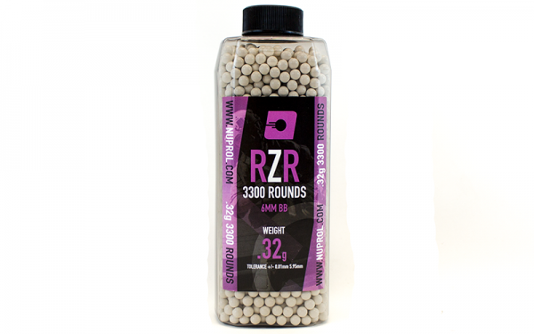 Nuprol RZR 0.32g - 3300rds - JD Airsoft Ltd