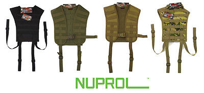 Nuprol PMC Low Profile Harness Black Tan