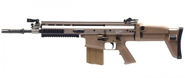 WE MCR Mk17 Scar Heavy Tan