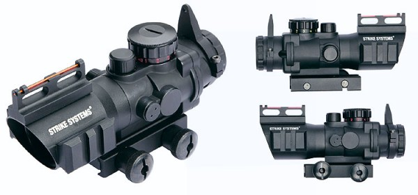 Strike ACOG scope 4x32 with Fibre Optics