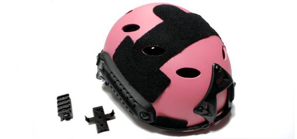 Nuprol FAST Railed Helmet - Pink