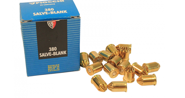 Fiocchi 9mm .38 Blanks  (X50)