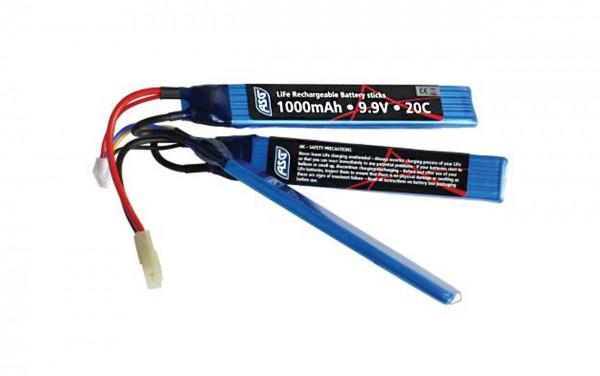 ASG 9.9v 1000mAh LI-FE Stick