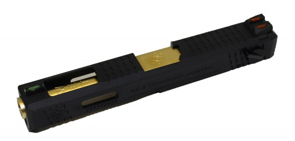 WE EU Glock 18 Slide Assembly Kit - Gold