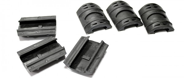 TDi Style RIS Covers (6pcs) Black