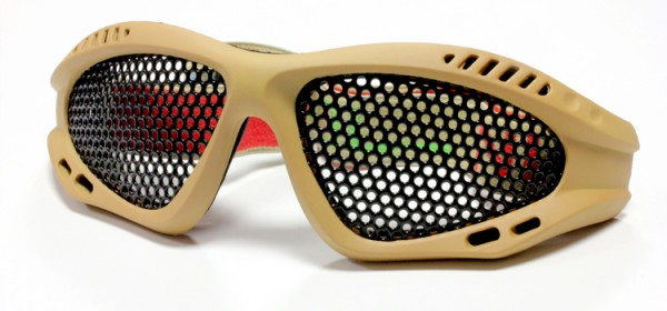 Nuprol Mesh Glasses - Tan