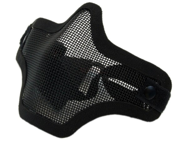 Nuprol Lower Mesh Mask Black