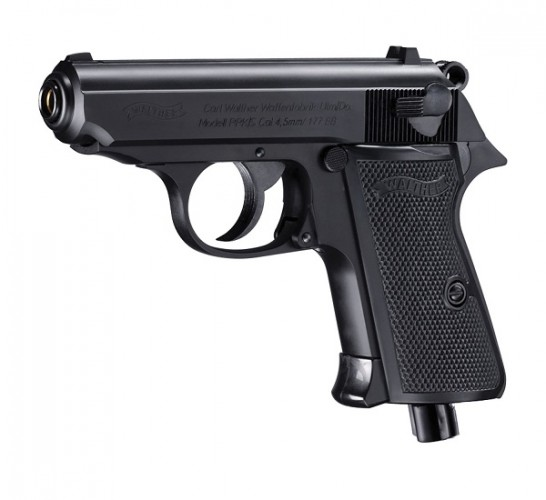 Walther PPK/S Black .177