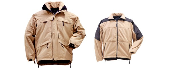 5.11 3-in-1 Parka Aggressor Coyote Brown