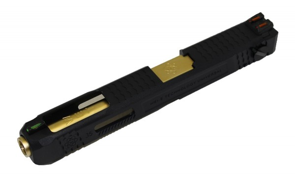 WE EU Glock 35 Slide Assembly Kit - Gold