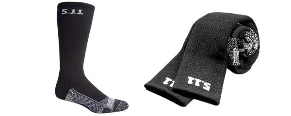 5.11 Level I 9 Socks Black