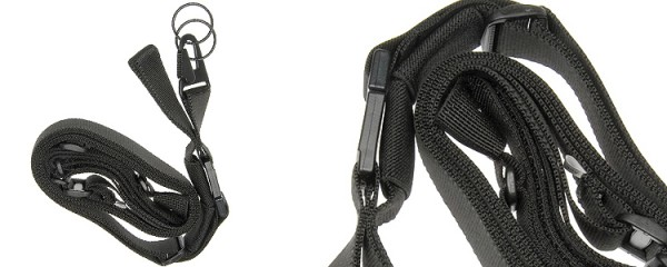 Strike 3 point Rifle Sling Black