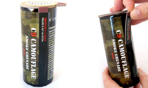 Cloud9 Camouflage Smoke Grenade - Red
