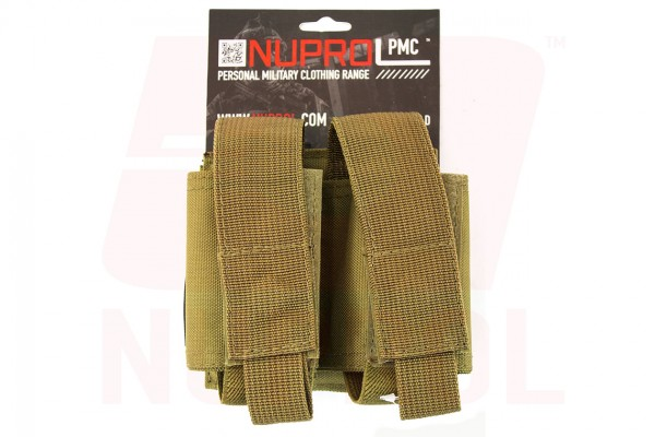 Nuprol PMC Double 40mm Pouch / tan