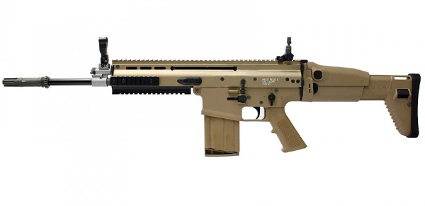 WE Europe MK17 Scar H GBB Tan