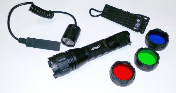 Walther Tactical XT Torch with Filter Set