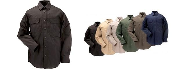 5.11 Tactical L/S Taclite Pro Shirt Black