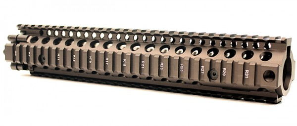 Lite Rail System MK18 II RIS 12.0 Dark Brown