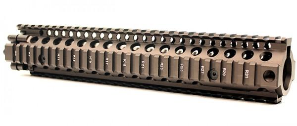 Lite Rail System MK18 II RIS 12.0 Dark Brown