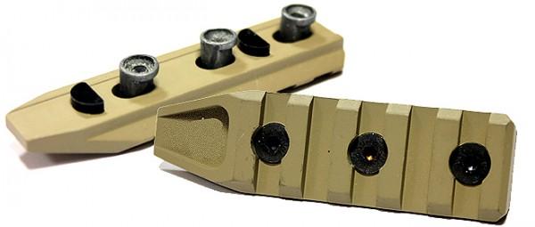 URX-4 Style 5 Slot Rail - Tan