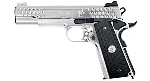 WE 1911 KAC NightHawk Silver