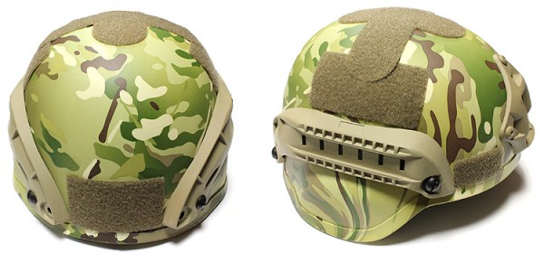 Nuprol MICH Railed Helmet - MC