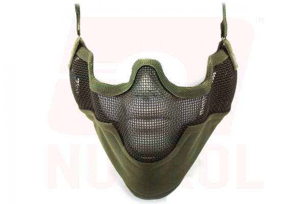 Nuprol Mesh Lower Face Shield V2 / Green