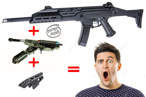 ASG CZ Scorpion Evo Carbine /w Evotek Expert Package
