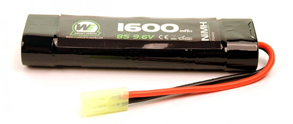 WE 9.6v 1600mAh Small Type Battery